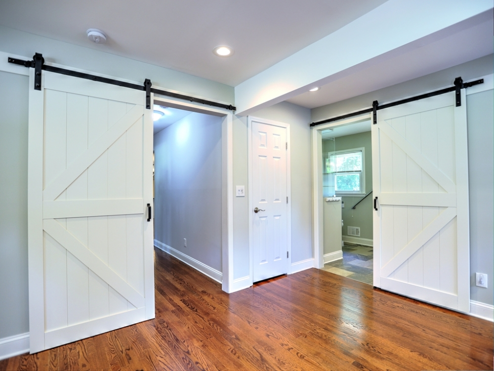 Extra side doors make accessible living  easy.