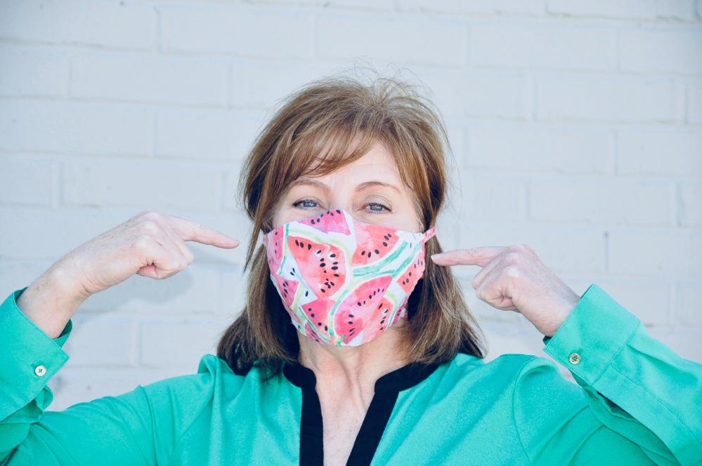 Masking no make up!